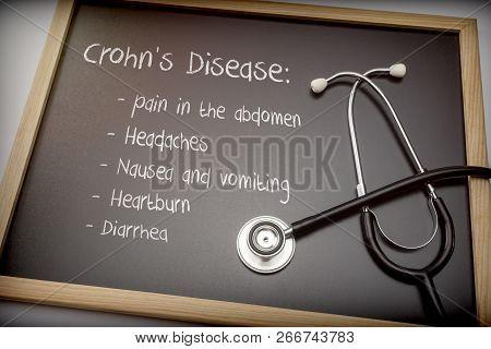 Crohn's Disease Can Have These Symptoms Diarrhea, Headaches, Heartburn, Nausea And Vomiting, Pain In