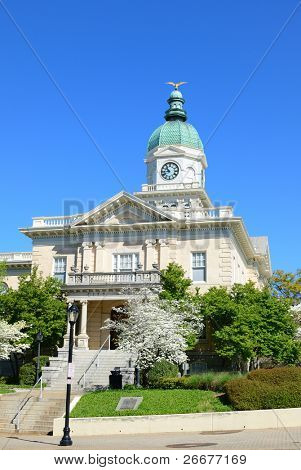 The city hall building of Athens, Georgia.