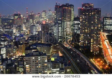 Building in Tokyo, Japan.