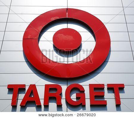 ATLANTA - SEPTEMBER 12: The Target bullseye logo on September 12, 2011 in Atlanta, Georgia. Target is the second-largest discount retailer in the United States, behind Walmart.