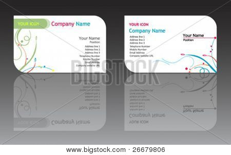 Business card (name card template)