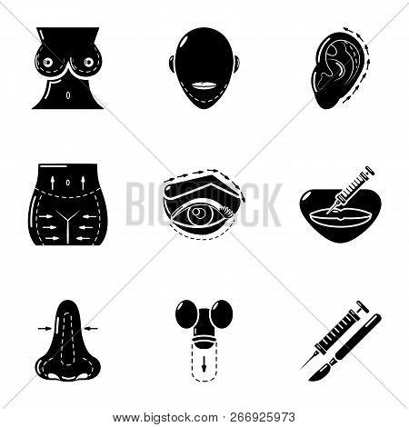 Barbie Icons Set. Simple Set Of 9 Barbie Vector Icons For Web Isolated On White Background