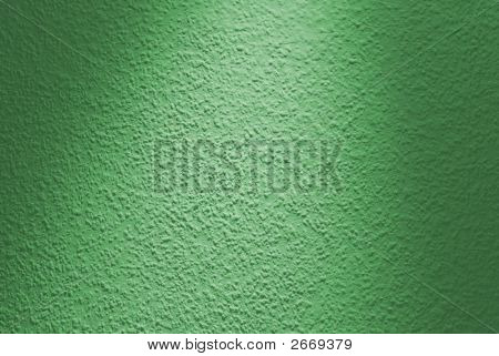 Green wall surface detail. A lot of grains in hard light. poster