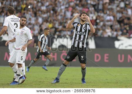 Rio, Brazil - November 04, 2018: Igor Rabello Player In Match Between Botafogo And Corinthians By Th