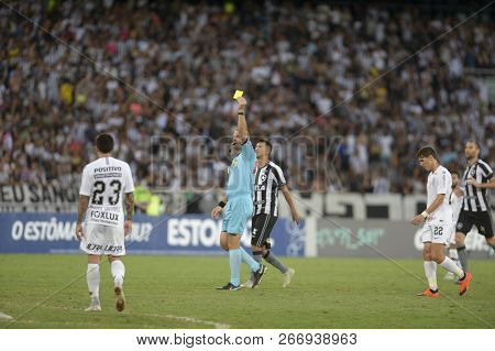 Rio, Brazil - October Xx, 2018: Leandro Pedro Vuaden Player In Match Between Botafogo And Corinthian