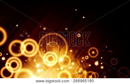 Abstract, Background, Black Background, Bokeh, Bright, Circle. Color, Decoration, Design, Discs, Eff