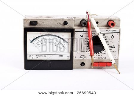 Old multimetr