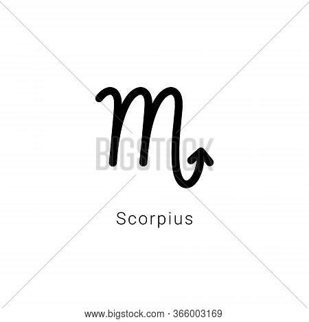 Sign Of The Zodiac. Scorpius, The Scorpion