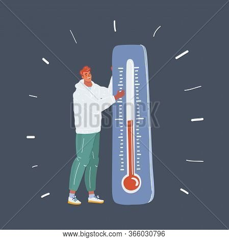 Fashian Stail Gradient Global Warming Icon. Ecology Concept