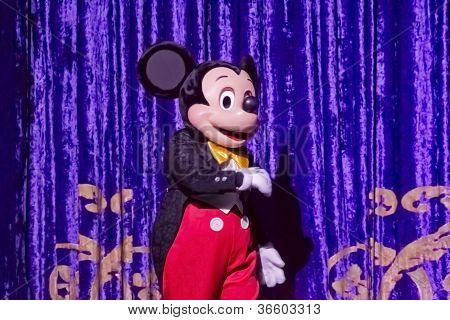 Mickey Mouse In Tux