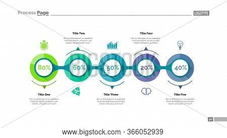 Marketing Strategy Slide Template. Business Data. Graph, Diagram, Design. Creative Concept For Infog