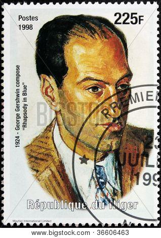 George Gershwin Stamp