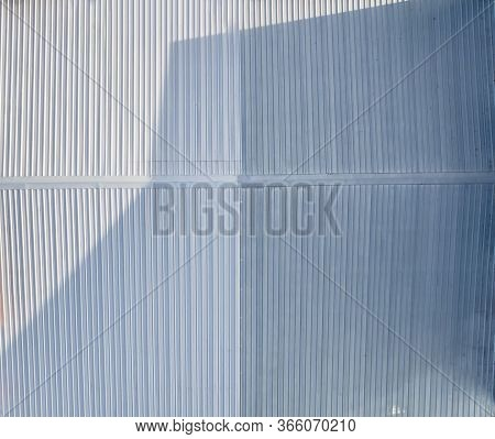 Top View Roof Top View Roof Metal Sheet With Copy Space