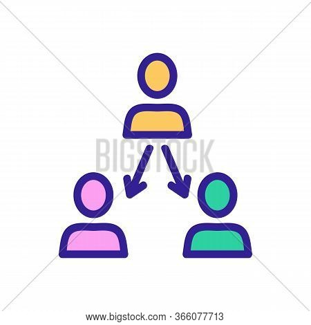 Human Diagnostics Scanner Icon Vector. Human Diagnostics Scanner Sign. Color Symbol Illustration