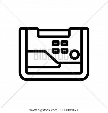 Functional Alternator Icon Vector. Functional Alternator Sign. Isolated Contour Symbol Illustration