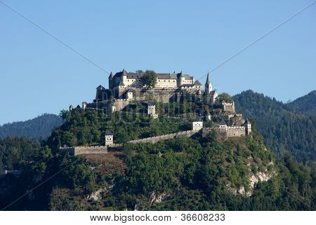 A Beautiful Castle In The Landscape