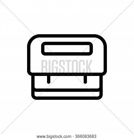 Hole Punches For Scrapbooking Icon Vector. Hole Punches For Scrapbooking Sign. Isolated Contour Symb