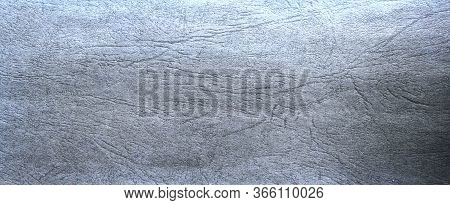 Elegant Sapphire Blue Background With White Hazy Top Border And Dark Black Grunge Texture Bottom Bor