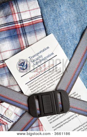 Tsa Baggage Check