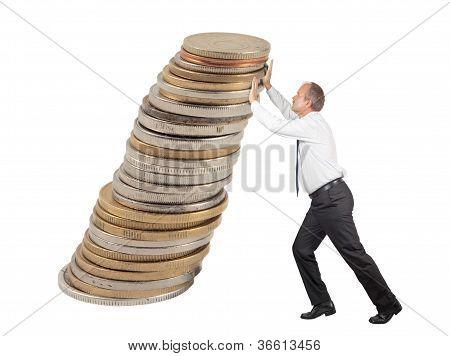 Pushing Coins