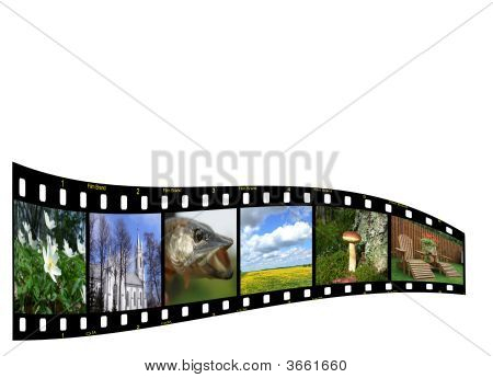 Filmstrip With Copyspace