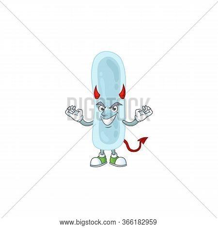 A Cartoon Image Of Klebsiella Pneumoniae As A Devil Character