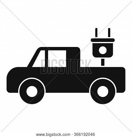 Electrical Pick Up Icon. Simple Illustration Of Electrical Pick Up Vector Icon For Web Design Isolat