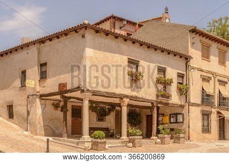 Beautiful House Of 19th Century In Hita. July 23, 2019. Hita Guadalajara Castilla La Mancha. Spain.