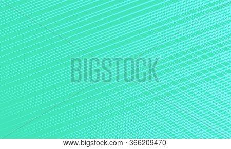 Green Retro Background. Pop Art Vector Illustration 50s 60s Style