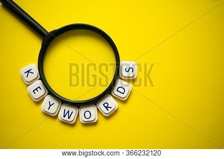 A Magnifying Glass And The Word