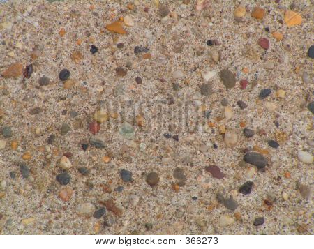 Stone In Concret