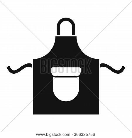 Cooking Apron Icon. Simple Illustration Of Cooking Apron Vector Icon For Web Design Isolated On Whit