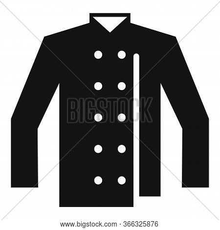 Cook Chef Shirt Icon. Simple Illustration Of Cook Chef Shirt Vector Icon For Web Design Isolated On