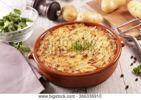 mashed potato with minced beef