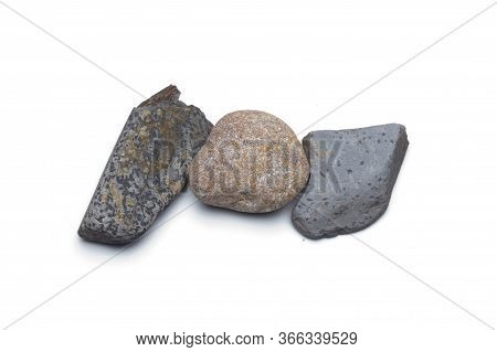 Small Stones On Background