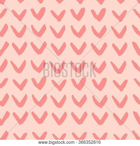 Trendy Seamless Pattern With Graphic Abstract Shapes. Avant Garde Puzzle Style.
