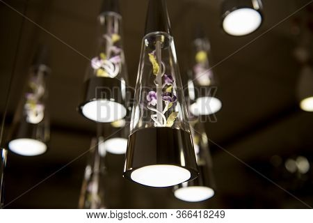 Lamps Similar To A Jug Hanging On The Ceiling