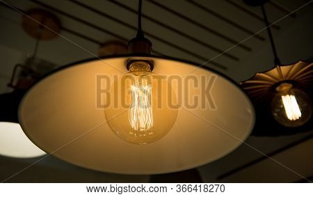 Pendant Light For Loft Space Switch On At Night