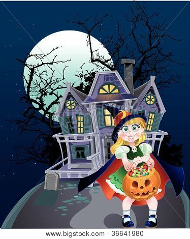 Halloween banner Trick Or Treaters