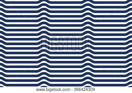 Abstract Lines Seamless Pattern, Vector Background With Parallel Stripes, Lined Design Minimalistic