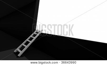 Ladder Over Wall