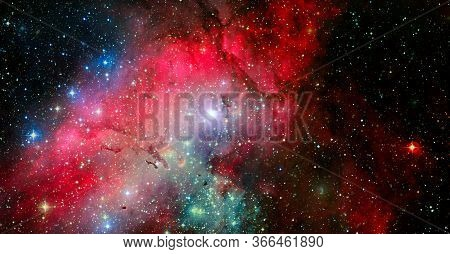 Nasa Hubble. Elements Of This Image Are Furnished By Nasa.