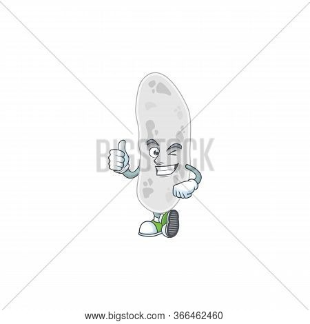 Caricature Picture Of Gemmatimonadetes With Thumbs Up Finger