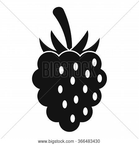 Wild Blackberry Icon. Simple Illustration Of Wild Blackberry Vector Icon For Web Design Isolated On