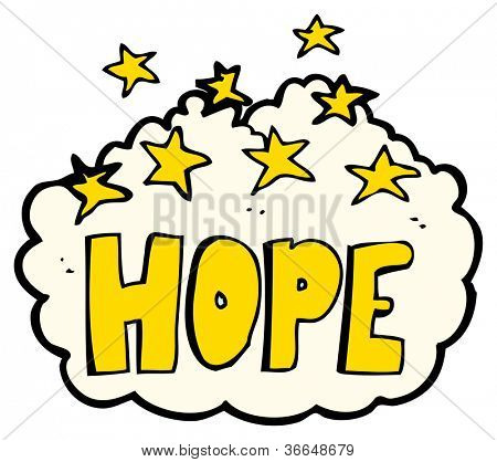 hope sign poster
