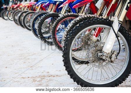 Winter Motorcycle Race