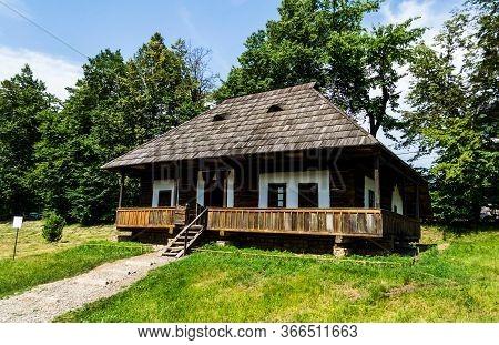 Suceava, Romania - June 21, 2019: Bucovina Village Museum Or National Museum Of Bukovina.