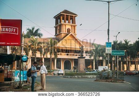 Cansaulim, Goa, India - February 19, 2020: Dr Tristao Braganza Da Cunha Sports Complex.