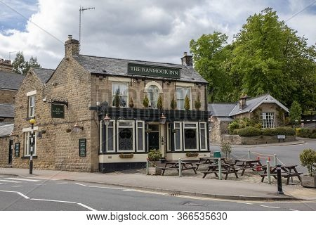 Sheffield, England - May 16 2020: The Ranmoor Inn, Closed During The Covid-19 Outbreak.  The Buildin