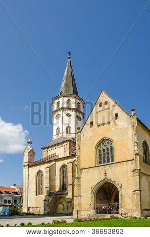 Levoca, Slovakia - St. James Church
